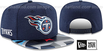 Titans '2017 NFL ONSTAGE SNAPBACK' Hat by New Era