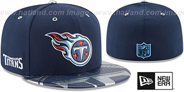 Titans 2017 SPOTLIGHT Fitted Hat by New Era