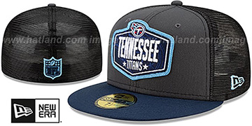Titans '2021 NFL TRUCKER DRAFT' Fitted Hat by New Era