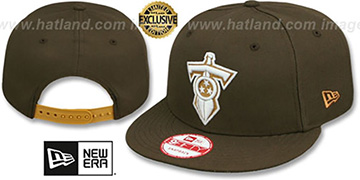 Titans 'ALT TEAM-BASIC SNAPBACK' Brown-Wheat Hat by New Era