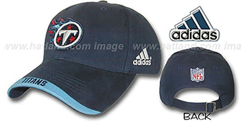 Titans MAXIM Hat by adidas - navy