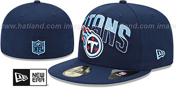 Titans NFL 2013 DRAFT Navy 59FIFTY Fitted Hat by New Era