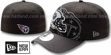 Titans NFL BLACK-CLASSIC FLEX Hat by New Era