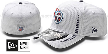 Titans 'NFL TRAINING FLEX' White Hat by New Era