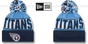 Titans REP-UR-TEAM Knit Beanie Hat by New Era
