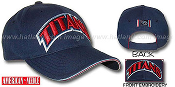 Titans 'ROULETTE' Hat by American Needle