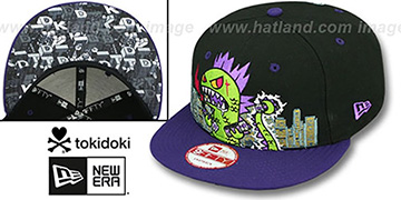 TokiDoki 'SMASHED SNAPBACK' Hat by New Era