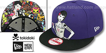 TokiDoki 'HAPPY HOUR SNAPBACK' Hat by New Era