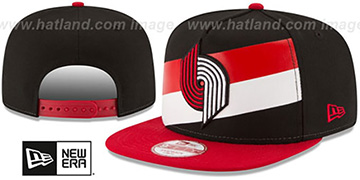 Trailblazers 'NBA JERSEY MURAL SNAPBACK' Hat by New Era