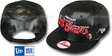 Trailblazers REDUX SNAPBACK Black Hat by New Era