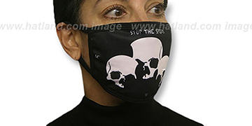 TRIPLE SKULL Washable Fashion Mask by Hatland.com