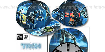 Tron HI-RES ALL OVER Multi Fitted Hat by New Era