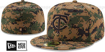 Twins 2016 MEMORIAL DAY 'STARS N STRIPES' Hat by New Era