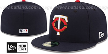 Twins AC-ONFIELD ALTERNATE Hat by New Era