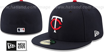 Twins AC-ONFIELD HOME Hat by New Era