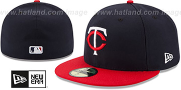 Twins 'AC-ONFIELD ROAD' Hat by New Era