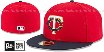 Twins 'PERFORMANCE ALTERNATE-2' Hat by New Era