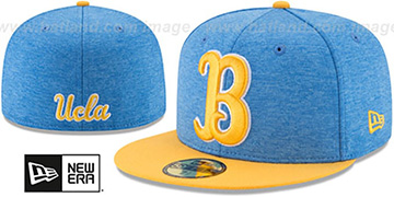UCLA  'HEATHER-HUGE' Sky-Gold Fitted Hat by New Era