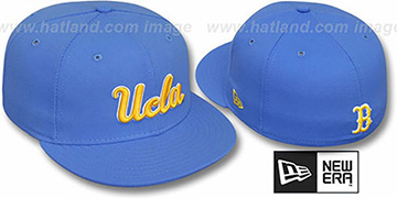 UCLA NCAA-BASIC Sky Fitted Hat by New Era