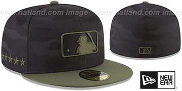 Umpire 2018 MEMORIAL DAY 'STARS N STRIPES' Hat by New Era