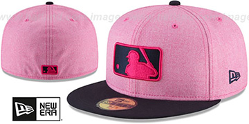 Umpire 2018 MOTHERS DAY Pink-Navy Fitted Hat by New Era