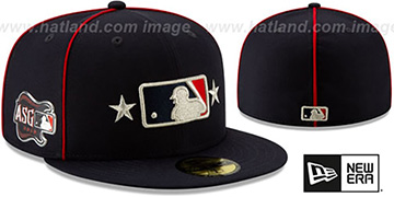 Umpire '2019 MLB ALL-STAR GAME' Fitted Hat by New Era
