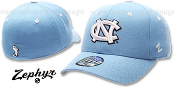 UNC DH Sky Fitted Hat by ZEPHYR
