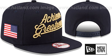 United States 'ACHIEVE GREATNESS SNAPBACK' Navy Hat by New Era