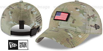 United States COUNTRY CAMO STRAPBACK Woodland Hat by New Era