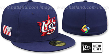United States 'PERFORMANCE WBC-2' HOME Hat by New Era