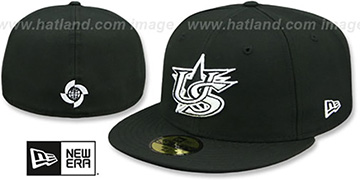 United States 'PERFORMANCE WBC' Black-White Hat by New Era