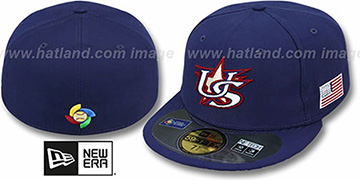 United States 'PERFORMANCE WBC' HOME Hat by New Era