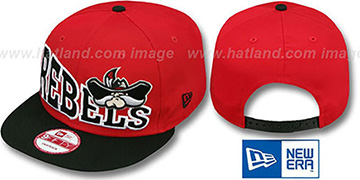 UNLV 'STOKED SNAPBACK' Red-Black Hat by New Era