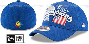 USA '2017 WBC CHAMPS' Flex Hat by New Era