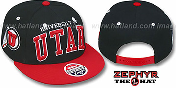 Utah '2T SUPER-ARCH SNAPBACK' Adjustable Hat by Zephyr