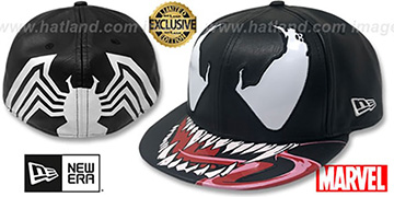 Venom 'CHARACTER FACE' Fitted Hat by New Era