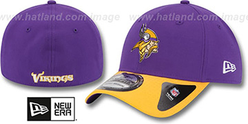 Vikings 2015 NFL DRAFT FLEX  Hat by New Era