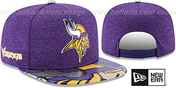 Vikings '2017 NFL ONSTAGE SNAPBACK' Hat by New Era