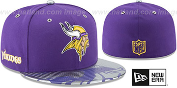 Vikings '2017 SPOTLIGHT' Fitted Hat by New Era