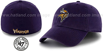 Vikings NFL FRANCHISE Purple Hat by 47 Brand