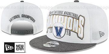 Villanova '2018 NCAA NATIONAL CHAMPIONS SNAPBACK' Hat by New Era