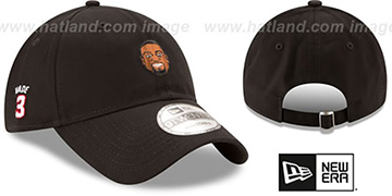 Wade 'PRIMARY PLAYER STRAPBACK' Black Hat by New Era