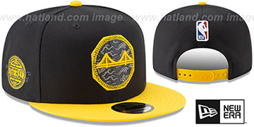Warriors '18-19 CITY-SERIES SNAPBACK' Navy-Gold Hat by New Era