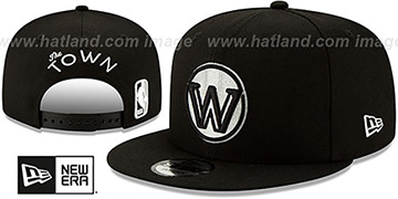 Warriors 19-20 CITY-SERIES ALTERNATE SNAPBACK Black Hat by New Era