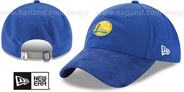Warriors 2017 NBA ONCOURT DRAFT STRAPBACK Royal Hat by New Era