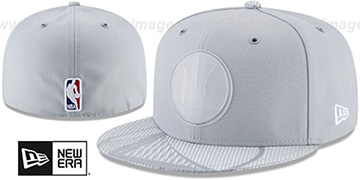 Warriors 2018 NBA ONCOURT ALL-STAR Grey Fitted Hat by New Era