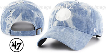 Warriors 'ACID WASH STRAPBACK' Hat by Twins 47 Brand