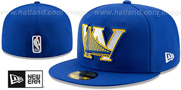 Warriors 'DECEPTORED' Royal Fitted Hat by New Era