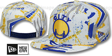 Warriors 'GEOMET TRICK SNAPBACK' Hat by New Era