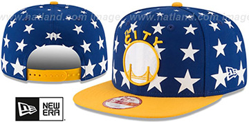 Warriors 'NBA ALL-STARRY SNAPBACK' Hat by New Era